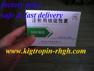 HCG powder 5000iu *10vials*5 kits