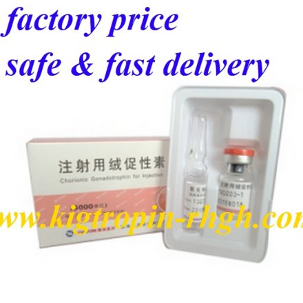 HCG with water 5000iu *10vials*1 kits