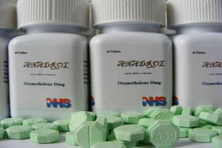 Anadrol 50mg 15 bottle